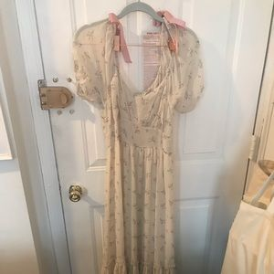 Loveshackfancy maxi dress